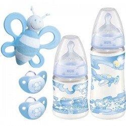 SET DE INICIO NUK BABY BLUE...